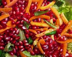Carrot Salad With Pomegranate