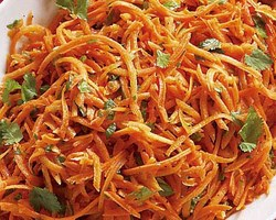 Grated Carrot Salad Recipe