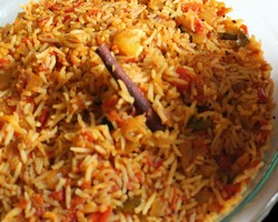 Tomato Rice Bath Recipe