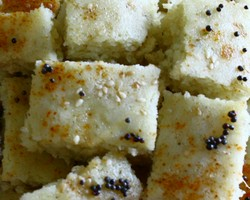 Gujarati White Dhokla Recipe