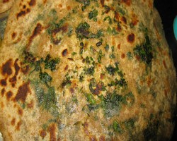 Aloo Spinach Paratha Recipe