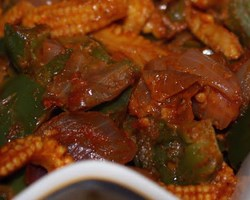Baby Corn With Capsicum Recipes