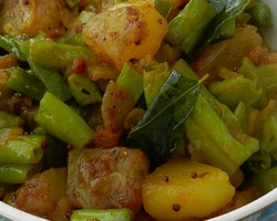 ried Green Beans And Potatoes