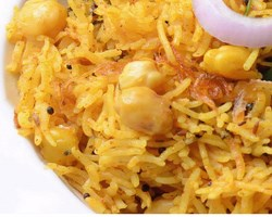 Kabuli Chana Pulao Recipe