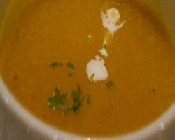 Orange Masoor Dal Soup