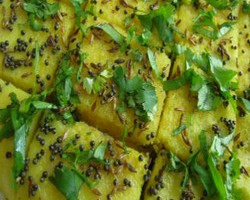 Dhokla In Microwave Oven