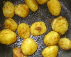 Garlic Roasted Baby Potatoes Recipe