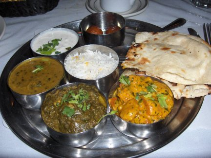 North Indian Vegetarian Full Meal