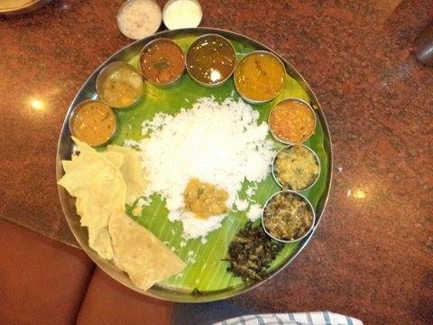 South Indian Vegetarian Full Meal