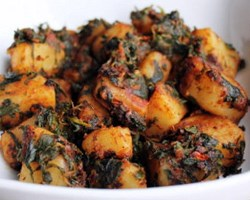 Aloo Palak Recipe (Copy)