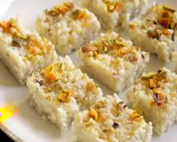 Kalakand With Condensed Milk And Paneer Recipe